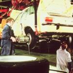 Spezialgerät zur Radmontage, Opel 1969