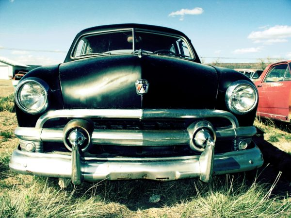 51er Ford in Tucumcari, New Mexico, USA. Fotoquelle: sleeping-beauties.de