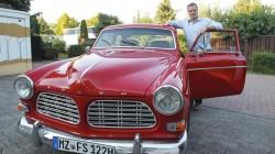 21.08.2013 Autoserie:Herrn Schulz und seinen Oldtimer Volvo Amazon,