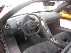 McLaren 650S Cockpit