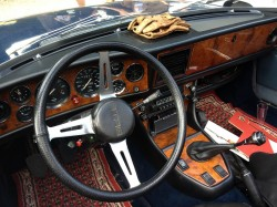 Triumph Stag Cockpit