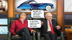 Bill Gates und Warren Buffet
